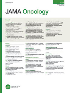 Jama oncology featured publication